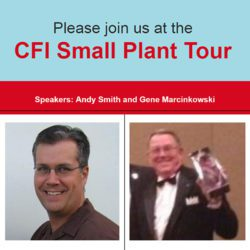 CFI Small Plant Tour Hosted by Imperial Services of Sonoma