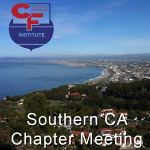 Southern CA Chapter Meeting