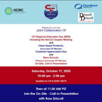 2020-10-17 CFI Regional Education Day Featured