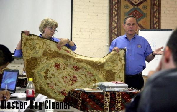 Master Rug Cleaning Class